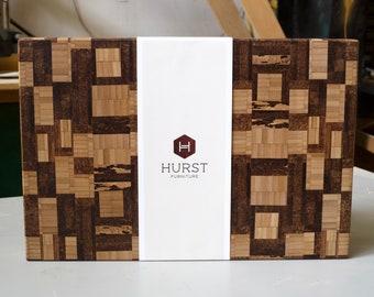 Solid End-Grain Bamboo Cutting Board
