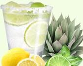 QUARANTINI ALCOHOL SANITIZER, 8 Liquor Scents, Gifts, Hand Sanitzer, 2.5 oz Squeeze Bottle, Purse Size, Santizer New