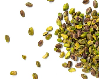 RAW UNSHELLED PISTACHIO Nuts ,Natural, Ready to Eat, Out of the Bag Gluten Free Kosher, 1 pound bag