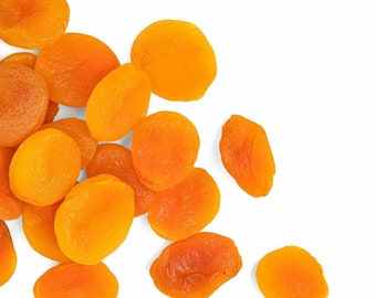 5 lbs.Dried Apricots: Bulk Organically Grown Dried Mango Cheeks Paleo Gluten Free Healthy Snack