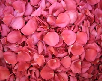 Wedding Toss Rose Petals