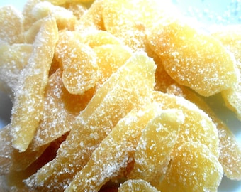 CRYSTALLIZED GINGER in Sugar 1/2 pound