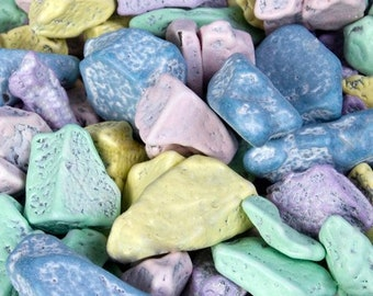PASTEL CHOCOLATE ROCKS Favors Cake Decorations Colorful Pebbles Little Stones Traditional Weddings Beach Parties Milk Chocolate
