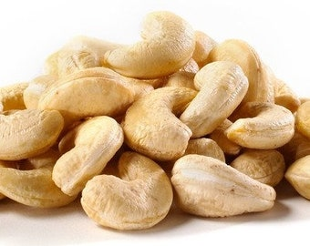 Jumbo RAW ORGANIC CASHEWS,Natural, Ready to Eat, Out of the Bag Gluten Free Kosher, 1 pound bag