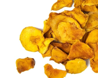 5 lbs.Dried Mango Chips: Bulk Organically Grown Dried Mango Cheeks Paleo Gluten Free Healthy Snack