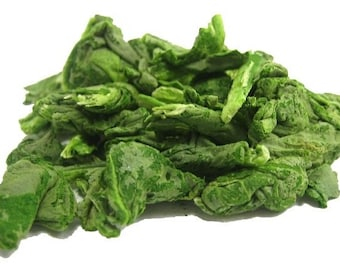 FREEZE DRIED SPINACH 1 pound Organically Grown
