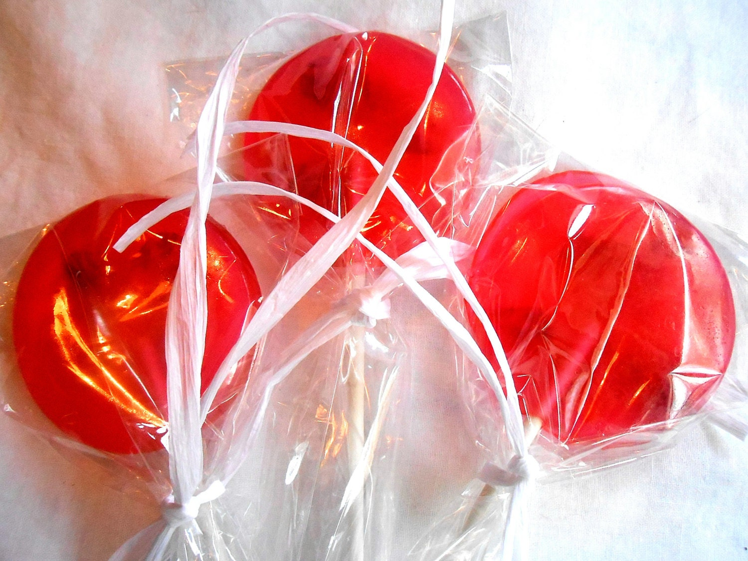 Gourmet,Watermelon Red Rose Petal, Edible, Giant, Lollipops Candied ...