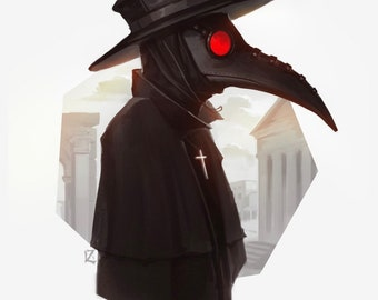 Plague Doctor Costume Etsy