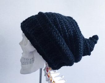 6a747b89a63 OOAK Black Witch Hat