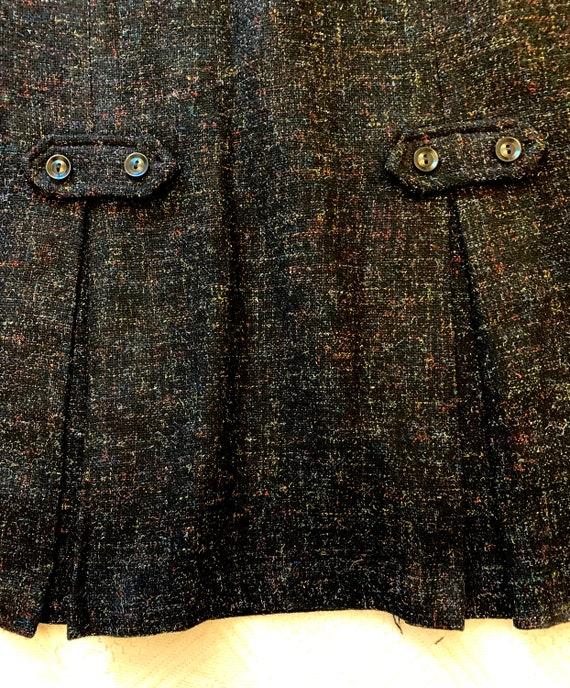 1950's Women's Multi-Flecked Pencil Skirt