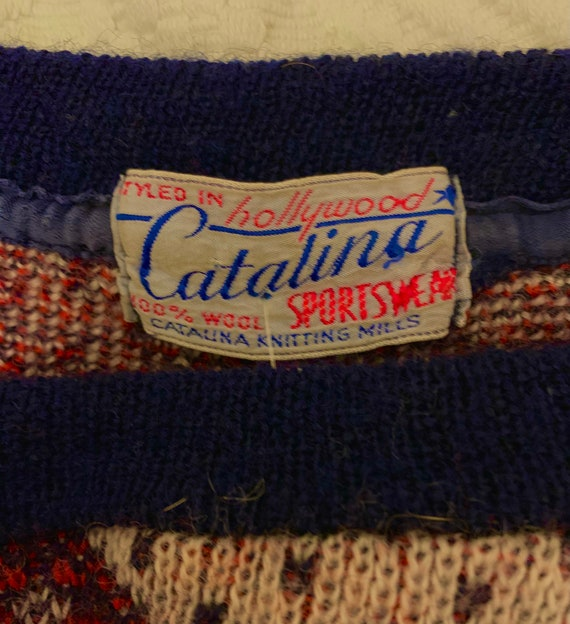 1950's Women's Catalina Alpine Jumper - image 4