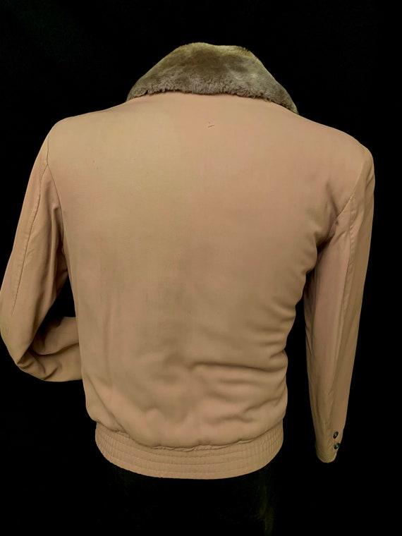 Men's 1940's Grey Gab Zip upJacket by Puritan Spo… - image 3