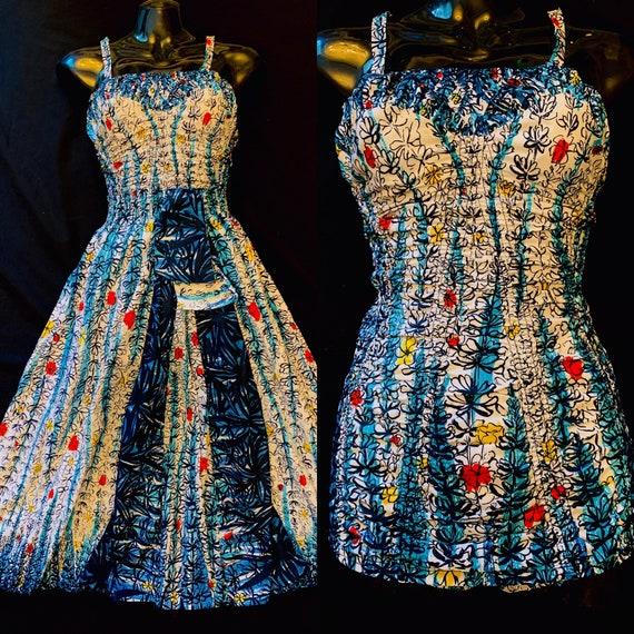 1950's Jean Patchett - Dan River Fabric for Catali