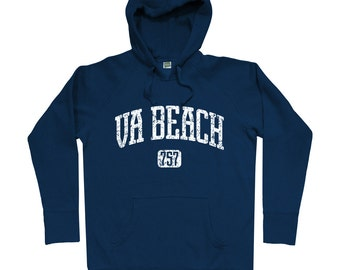 9a48f4069 Virginia Beach 757 Hoodie - Men S M L XL 2x - Virginia Beach Hoody,  Sweatshirt, VA, Hampton Roads
