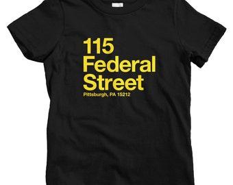 Niños Pittsburgh béisbol estadio camiseta-bebés 4306e7ab4ea22
