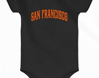 Baby San Francisco Romper - SF Infant One Piece - NB 6m 12m 18m 24m - San  Francisco Baby - 3 Colors 7b70a767c