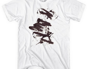 931850f1 Calligraphy No.1 T-shirt - Men and Unisex - XS S M L XL 2x 3x 4x - Artistic  Shirt - 1 Color