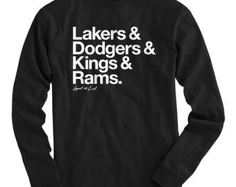 LS Loyal to Los Angeles Tee - Long Sleeve T-shirt - Men S M L XL 2x 3x 4x -  Los Angeles Shirt ad7b5980f