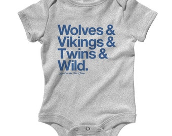 ace919dcd6e6 Baby Loyal to The Twin Cities Romper - Infant One Piece
