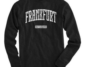 Frankfurt Hoody Men S M L XL 2x Frankfurt Germany Hoodie Sweatshirt Deutschland German