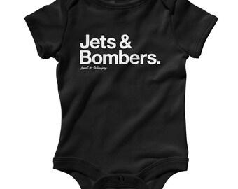 Baby bodysuit Newest fan Winnipeg Jets UNISEX One Piece jersey NHL