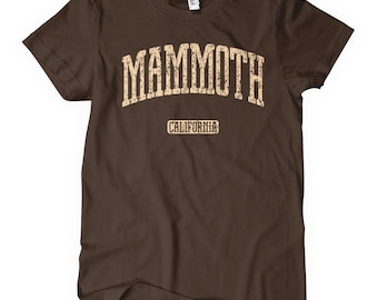Women s Mammoth California T-shirt - S M L XL 2x - Ladies  Mammoth Tee 966b29fbaa