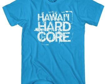 1693deac Hawaii Hardcore T-shirt - Men and Unisex - XS S M L XL 2x 3x 4x - Hawaiian  Islands Shirt, Maui Shirt, Kauai Shirt, Honolulu Shirt, Gift