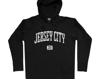5f8eb1a671bb06 Jersey City 201 Hoodie - Men S M L XL 2x - Jersey City Hoody