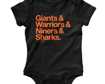 ea0fba9ea42 Baby Loyal to The Bay Area San Francisco Romper - Infant One Piece, Creeper  - NB 6m 12m 18m 24m - San Francisco Baby Gift, Sports Teams Fan