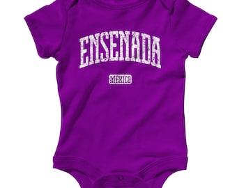 5f53c82e461 Baby Ensenada Mexico Romper - Infant One Piece - NB 6m 12m 18m 24m -  Ensenada Baby - 4 Colors