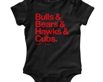 6a61afc1e Chicago bulls onesie
