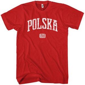 Polish Poland Shirt Polska 1918 Poland Sweatshirt Men S M L XL 2x
