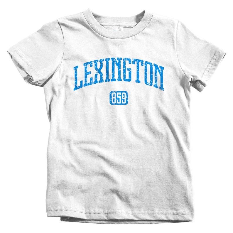 Kids Lexington 859 T-shirt 4 Colors Toddler Lexington Kentucky Tee Baby and Youth Sizes