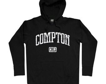 Compton Hoodie - Men S M L XL 2x 3x - Los Angeles Hoody Sweatshirt - California - 4 Colors