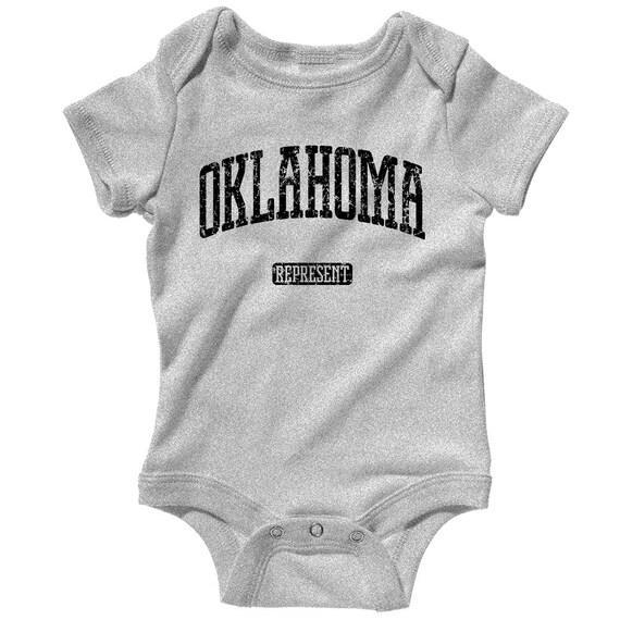 Crewneck S-3X Oklahoma Represent Men/'s Sweatshirt Gift City State Cowboys OK