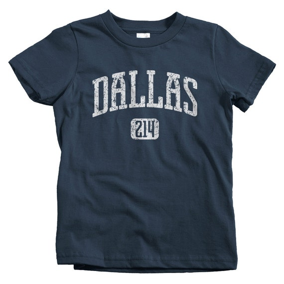 b5db33ae Kids Dallas 214 T-shirt Baby Toddler and Youth Sizes DFW | Etsy
