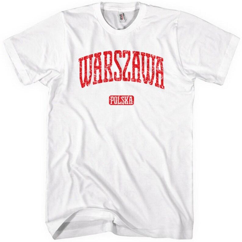 fb7f2ffbc53e Warsaw Tee Men and Unisex Warszawa Poland T-shirt XS S M