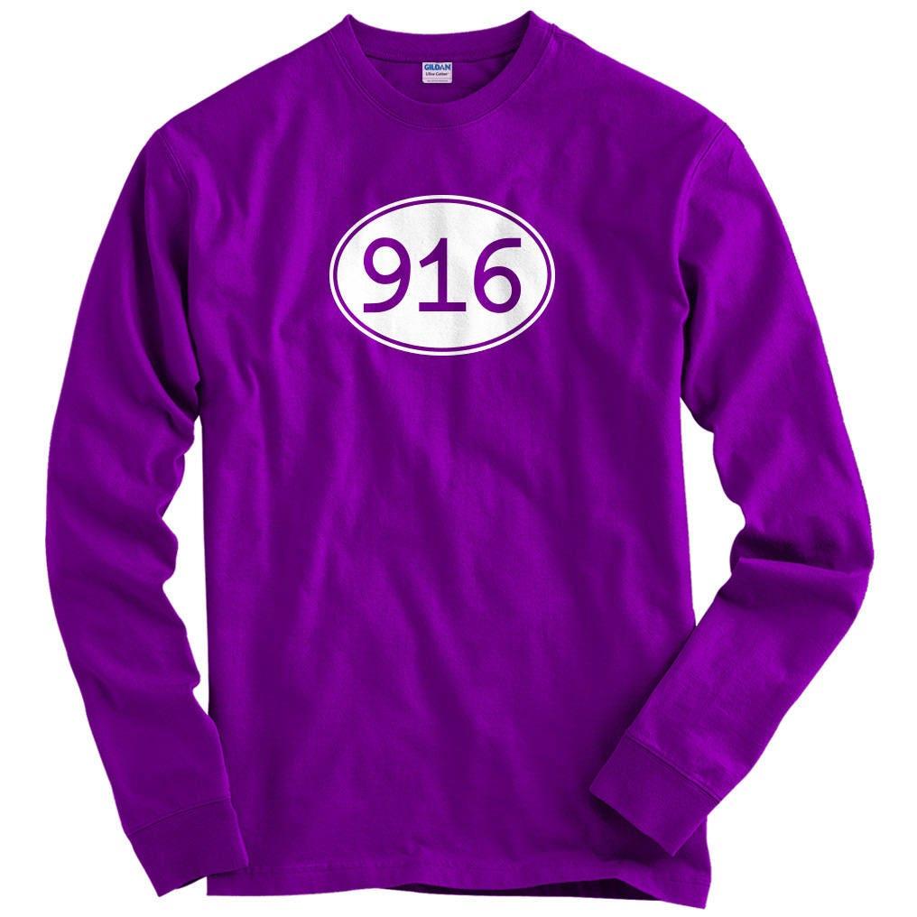 Ls Area Code 916 Tee Long Sleeve T Shirt Men S M L Xl 2x