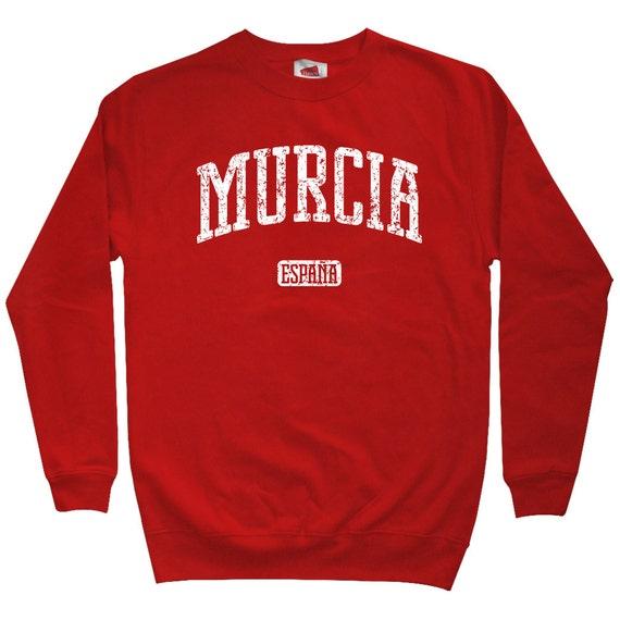 Murcia Spain Sweatshirt - Men S M L XL 2x - Crewneck, Gift For Men, Her, Murcia Sweatshirt, Spanish Sweater, Lorca, Cartagena, Real