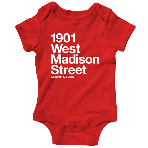 3c8108d5b Baby Chicago Basketball and Hockey Stadium Romper Infant One