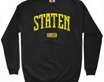 Staten Island NYC Sweatshirt - Men S M L XL 2x 3x - Staten Island Shirt - New York City - 4 Colors