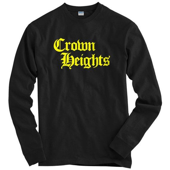 Crown Heights Gothic Brooklyn T-shirt Men Kids XS-4XL BK New York City NYC