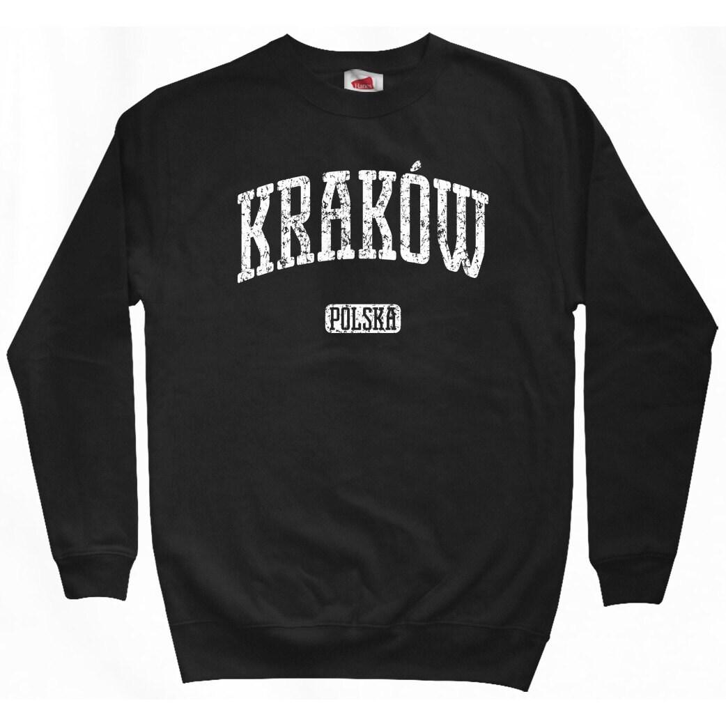 e0526900df8e4 Krakow Poland Sweatshirt Men S M L XL 2x Krakow Shirt