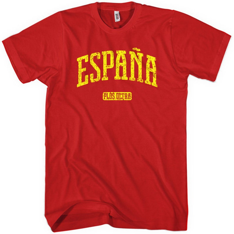 899a53cd6d Espana T-shirt Men and Unisex XS S M L XL 2x 3x 4x Spain
