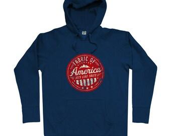 Transport Hoodie - Men S M L XL 2x - Travel Hoody Sweatshirt - America, USA, Pride, United States