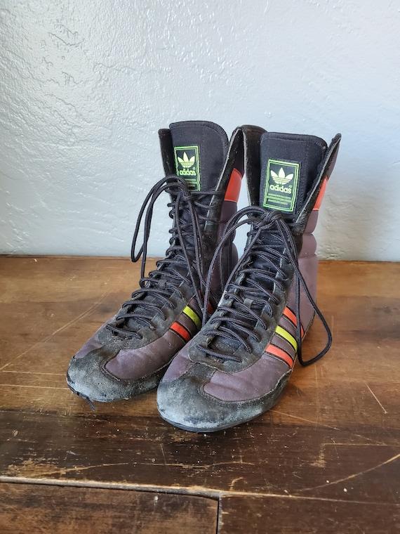 Vintage Adidas boxing sneakers / vintage Adidas wr