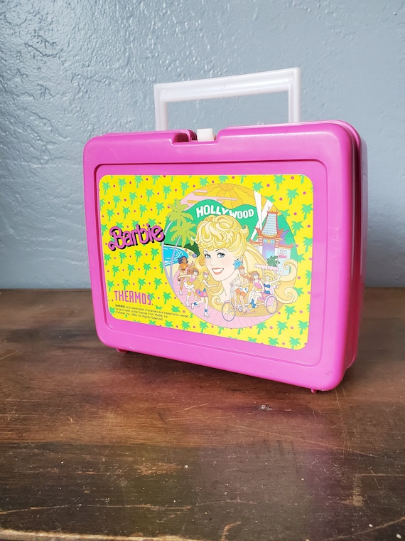 Vintage Barbie lunch box / rare barbie lunch box t