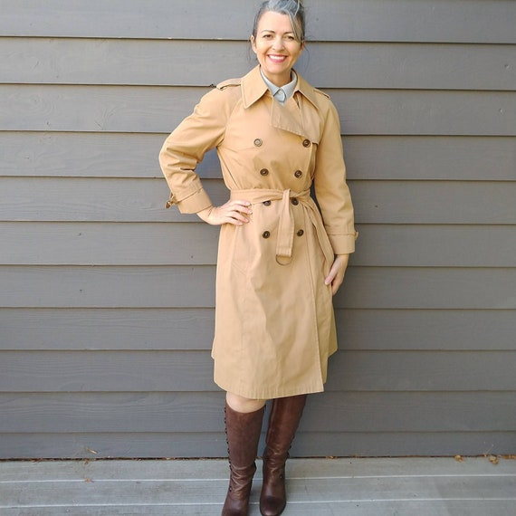 LONDON FOG vintage TRENCH coat S