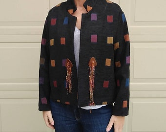 1990's TAPESTRY JACKET 90's M L (A5)