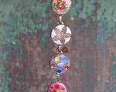 Czech glass Button Bracel...